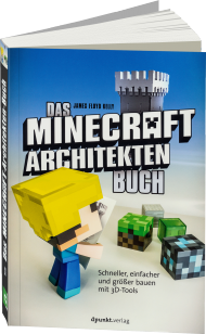Das Minecraft-Architekten-Buch, ISBN: 978-3-86490-345-8, Best.Nr. DP-345, erschienen 08/2016, € 7,95
