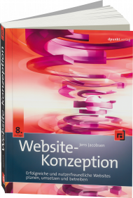 Website-Konzeption, ISBN: 978-3-86490-427-1, Best.Nr. DP-4271, erschienen 03/2017, € 39,90