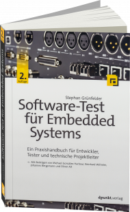 Software-Test für Embedded Systems, ISBN: 978-3-86490-448-6, Best.Nr. DP-448, erschienen 05/2017, € 44,90