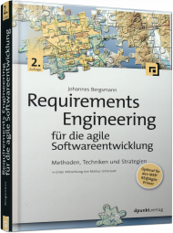 Requirements Engineering für die agile Softwareentwicklung, ISBN: 978-3-86490-485-1, Best.Nr. DP-485, erschienen 05/2018, € 36,90