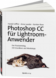 Photoshop CC für Lightroom-Anwender, ISBN: 978-3-86490-497-4, Best.Nr. DP-4974, erschienen 11/2017, € 34,90