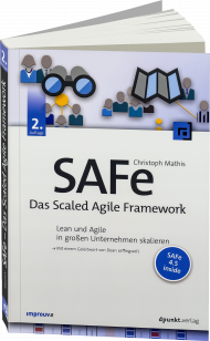 SAFe - Das Scaled Agile Framework, ISBN: 978-3-86490-529-2, Best.Nr. DP-529, erschienen 01/2018, € 34,90