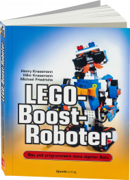 LEGO-Boost-Roboter, ISBN: 978-3-86490-536-0, Best.Nr. DP-5360, erschienen 01/2018, € 24,90