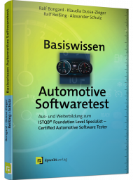 Basiswissen Automotive Softwaretest, ISBN: 978-3-86490-580-3, Best.Nr. DP-580, erschienen 09/2020, € 34,90