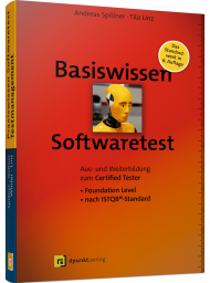 Basiswissen Softwaretest, ISBN: 978-3-86490-583-4, Best.Nr. DP-583, erschienen 06/2019, € 39,90