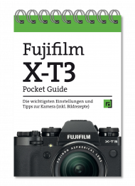 Fujifilm X-T3 - Pocket Guide, ISBN: 978-3-86490-703-6, Best.Nr. DP-7036, erschienen 10/2019, € 12,95