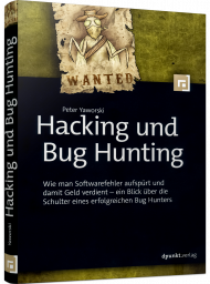 Hacking und Bug Hunting, ISBN: 978-3-86490-734-0, Best.Nr. DP-734, erschienen 08/2020, € 32,90