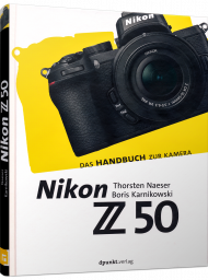 Nikon Z50, ISBN: 978-3-86490-746-3, Best.Nr. DP-746, erschienen 05/2020, € 29,90