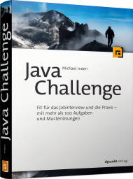 Java Challenge, ISBN: 978-3-86490-756-2, Best.Nr. DP-756, erschienen 09/2020, € 34,90