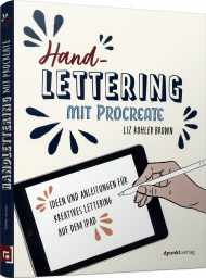 Handlettering mit Procreate, ISBN: 978-3-86490-796-8, Best.Nr. DP-796, erschienen 11/2020, € 24,90