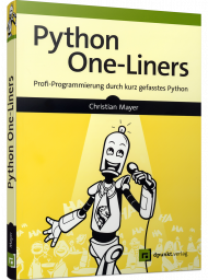 Python One-Liners, ISBN: 978-3-86490-805-7, Best.Nr. DP-805, erschienen 04/2021, € 29,90