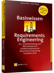 Basiswissen Requirements Engineering, ISBN: 978-3-86490-814-9, Best.Nr. DP-814, erschienen 04/2021, € 29,90