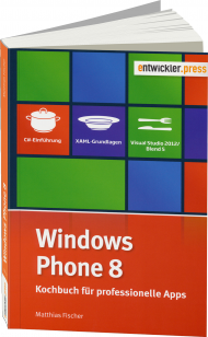 Windows Phone 8, ISBN: 978-3-86802-107-3, Best.Nr. EP-21073, erschienen 10/2013, € 24,90