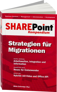 SharePoint Kompendium Band 12: Strategien für Migrationen, ISBN: 978-3-86802-143-1, Best.Nr. EP-21431, erschienen 12/2015, € 12,90