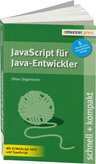 JavaScript f�r Java-Entwickler schnell + kompakt, Best.Nr. EP-21554, € 12,90