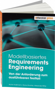 Modellbasiertes Requirements Engineering, ISBN: 978-3-86802-805-8, Best.Nr. EP-28058, erschienen 10/2017, € 34,90