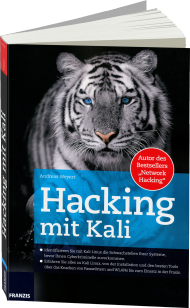 Hacking mit Kali, Best.Nr. FR-60341, € 34,95