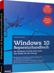 Windows 10 Reparaturhandbuch, Best.Nr. FR-60463, € 19,95