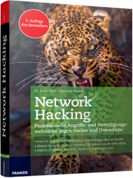 Network Hacking, ISBN: 978-3-645-60531-1, Best.Nr. FR-60531, erschienen 05/2017, € 40,00