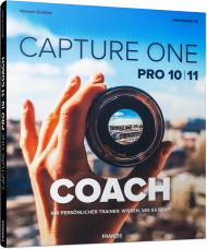 Capture One Pro 10/11 Coach, ISBN: 978-3-645-60561-8, Best.Nr. FR-60561, erschienen 02/2018, € 29,95