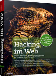 Hacking im Web, ISBN: 978-3-645-60636-3, Best.Nr. FR-60636, erschienen 09/2018, € 40,00