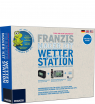 Franzis Maker Kit Wetterstation, EAN: 9783645652858, Best.Nr. FR-65285, erschienen 12/2015, € 49,95