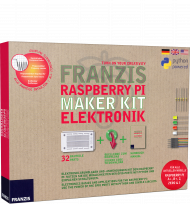 Franzis Raspberry Pi Maker Kit Elektronik, Best.Nr. FR-65339, € 29,95