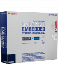 Franzis Maker Kit Embedded Systems Engineering, EAN: 4019631670175, Best.Nr. FR-67017, erschienen 12/2017, € 69,95