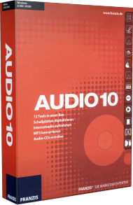 Audio 10 - 12 Tools in einer Box, Best.Nr. FR-70533, € 29,95