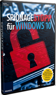 Spionagestopp für Windows 10, Best.Nr. FR-70548, € 19,95