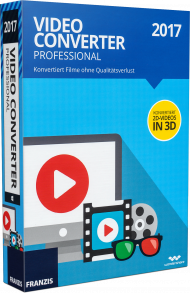 Video Converter Professional 2017, EAN: 9783645705769, Best.Nr. FR-70576, erschienen 09/2016, € 39,95