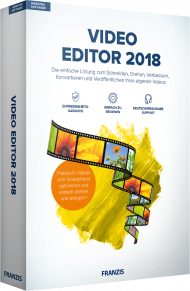 Video Editor 2018, EAN: 4019631707291, Best.Nr. FR-70729, erschienen 10/2017, € 19,95