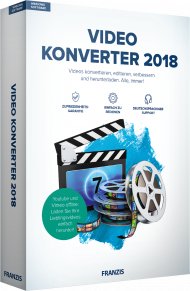 Video Konverter 2018, EAN: 4019631707338, Best.Nr. FR-70733, erschienen 10/2017, € 19,95
