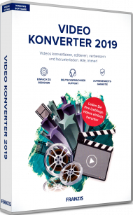 Video Konverter 2019, EAN: 4019631707680, Best.Nr. FR-70768, erschienen 10/2018, € 29,95