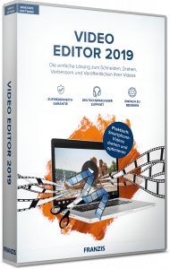 Video Editor 2019, EAN: 4019631707734, Best.Nr. FR-70773, erschienen 11/2018, € 29,95