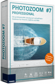 FRANZIS PHOTOZOOM 7 Professional (Download), EAN: 9783645309868, Best.Nr. FRO-0986, erschienen 11/2018, € 99,95