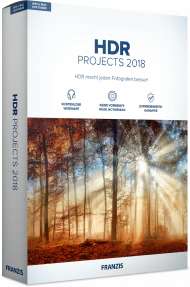 FRANZIS HDR PROJECTS 2018 (Download), EAN: 4019631310903, Best.Nr. FRO-1090, erschienen 11/2018, € 39,95