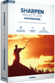 FRANZIS SHARPEN PROJECTS 2018 Professional (Download), EAN: 4019631311870, Best.Nr. FRO-1137, erschienen 11/2018, € 69,95