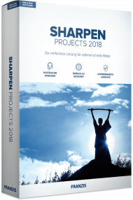 FRANZIS SHARPEN PROJECTS 2018 (Download), EAN: 4019631311382, Best.Nr. FRO-1138, erschienen 11/2018, € 39,95