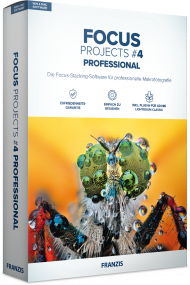 FRANZIS FOCUS PROJECTS 4 Professional (Download), EAN: 4019631311870, Best.Nr. FRO-1187, erschienen 11/2018, € 69,95