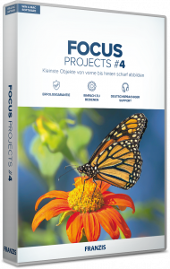 FRANZIS FOCUS PROJECTS 4 (Download), EAN: 4019631311962, Best.Nr. FRO-1196, erschienen 11/2018, € 39,95