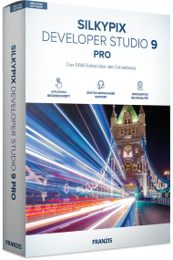 FRANZIS Silkypix Developer Studio 9 Pro (Download), Best.Nr. FRO-1246, erschienen 12/2018, € 149,95