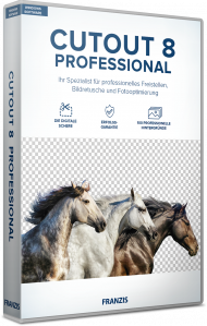 FRANZIS CutOut 8 Professional (Download), Best.Nr. FRO-1252, erschienen 12/2018, € 69,95