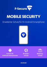 F-Secure Mobile Security - 1 Jahr, ESD, Best.Nr. FSO116, € 14,95