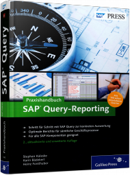 Praxishandbuch SAP Query-Reporting, Best.Nr. GP-1840, € 59,90