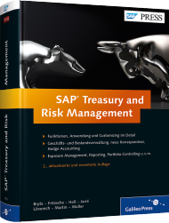 SAP Treasury and Risk Management, ISBN: 978-3-8362-1920-4, Best.Nr. GP-1920, erschienen 01/2013, € 119,90