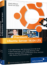 GP-1957, Praxisbuch Ubuntu Server 14.04 LTS von Galileo Press, 712 S., EUR 44,90 (08/2014), 3-8362-1957-3