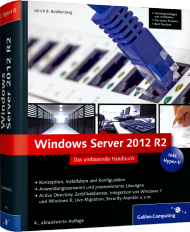 Windows Server 2012 R2 - Das umfassende Handbuch, Best.Nr. GP-2013, € 59,90