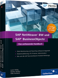 SAP NetWeaver BW und SAP BusinessObjects, ISBN: 978-3-8362-2048-4, Best.Nr. GP-2048, erschienen 05/2013, € 59,90