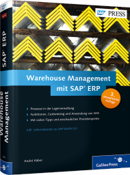Warehouse Management mit SAP ERP, ISBN: 978-3-8362-2293-8, Best.Nr. GP-2293, erschienen 01/2014, € 69,90
